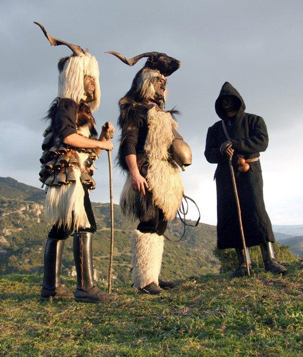 Mammutzones, carnevale di Samugheo